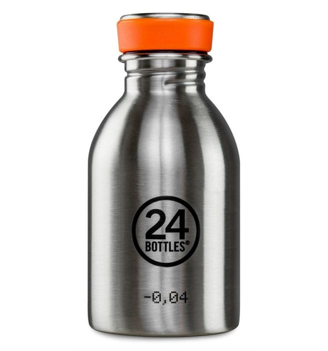 24Bottles Urban Drinking Bottle 0,25 L  Steel