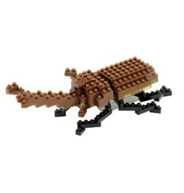 Nano Blocks Building Kit Japanes Rhinoceros Beetle