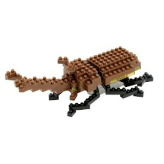 Nano Blocks Bausatz Japanes Rhinoceros Beetle