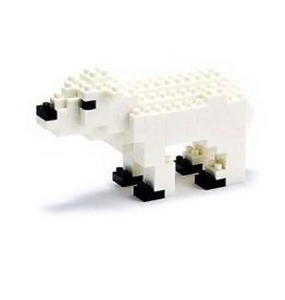 Nano Blocks Bausatz Polar Bear