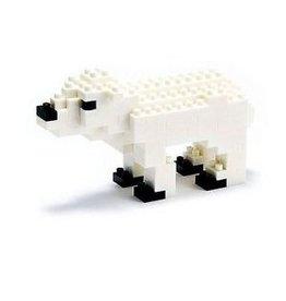 Nano Blocks Building Kit Polar Bear
