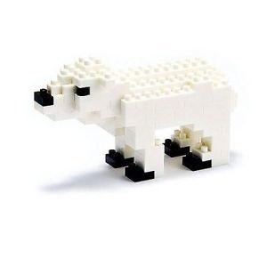 Nano Blocks Bausatz Polar Bear