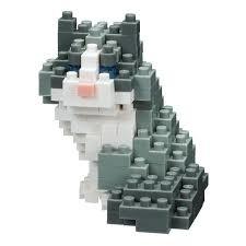 Nano Blocks Bouwpakket Ragdoll