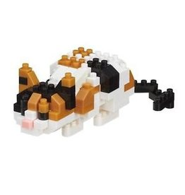 Nano Blocks Bausatz Calico Cat