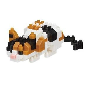 Nano Blocks Bausatz Calico Cat