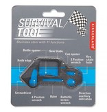 Kikkerland Survival Multitool Car