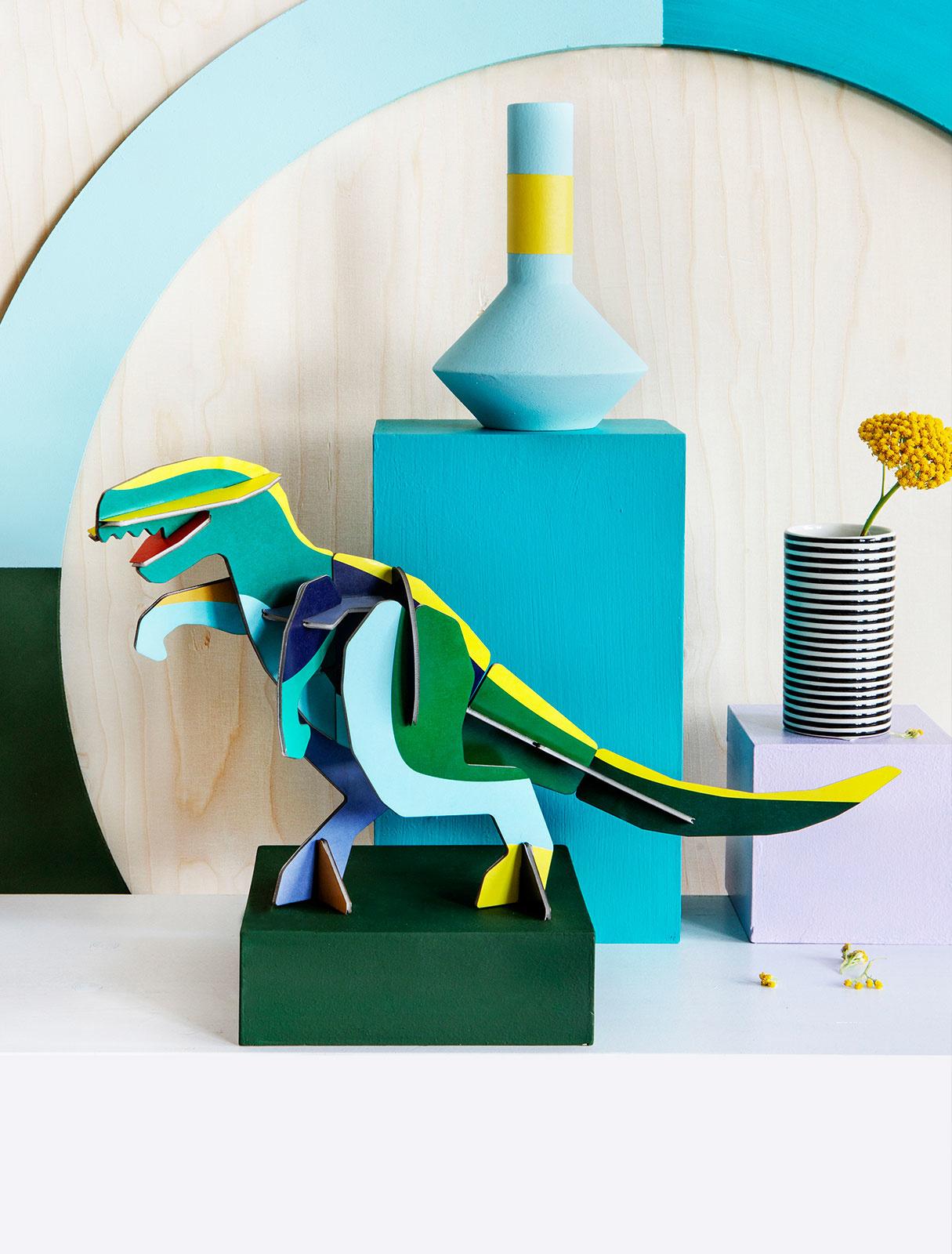 Studio Roof Construction kit Giant Totem T-Rex