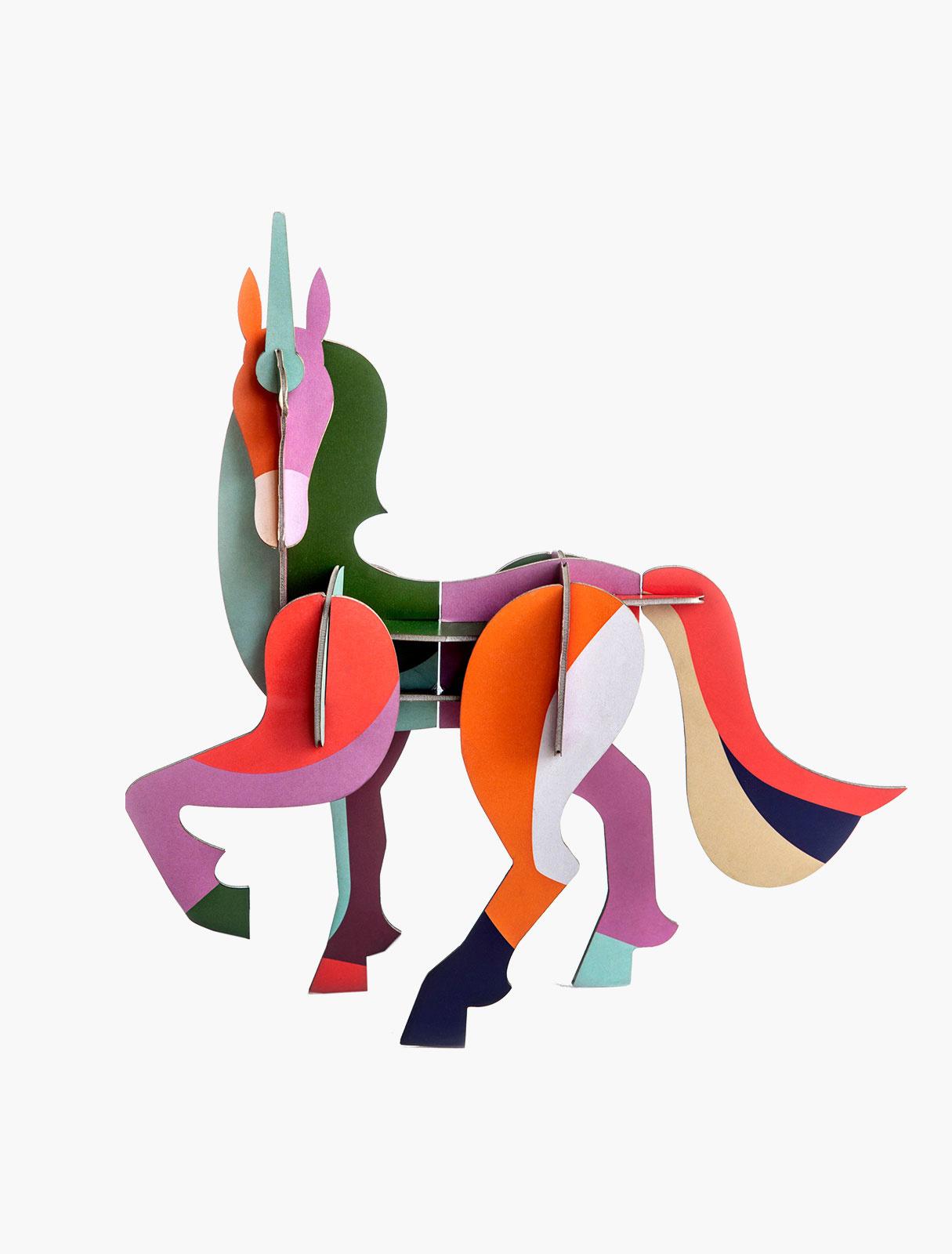 Studio Roof Bouwpakket Totem Giant Unicorn