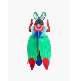 Studio Roof 3D Wanddekoration  Giant Scarab Beetle