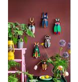 Studio Roof 3D Wanddekoration Grasshopper