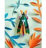 Studio Roof 3D Wall Decoration Grasshopper