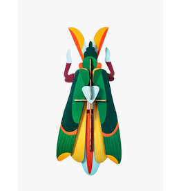Studio Roof 3D Wall Decoration Grasshopper