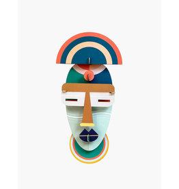 Studio Roof 3D Wall Decoration Brooklyn Mask