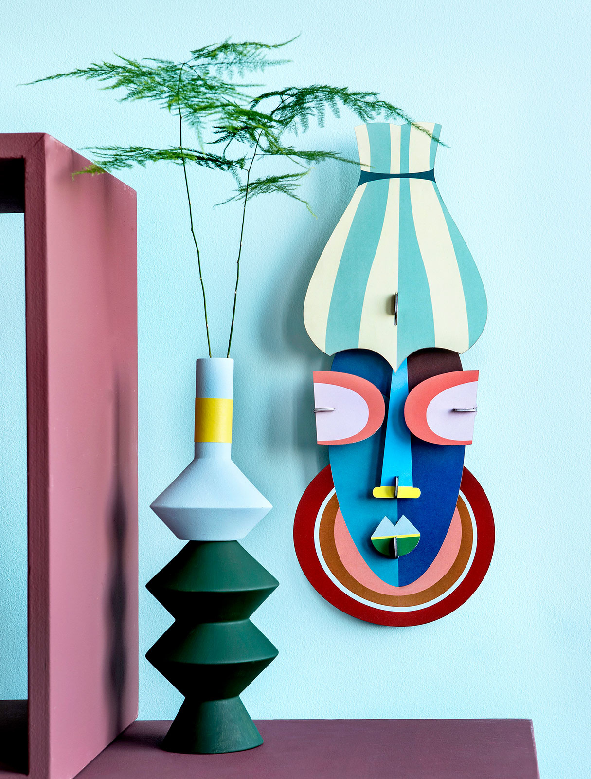 Studio Roof 3D Wanddecoratie Manhattan Mask