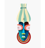 Studio Roof 3D Wall Decoration Manhattan Mask