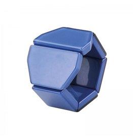 S.T.A.M.P.S Horlogeband Belta Y Crystal dark blue