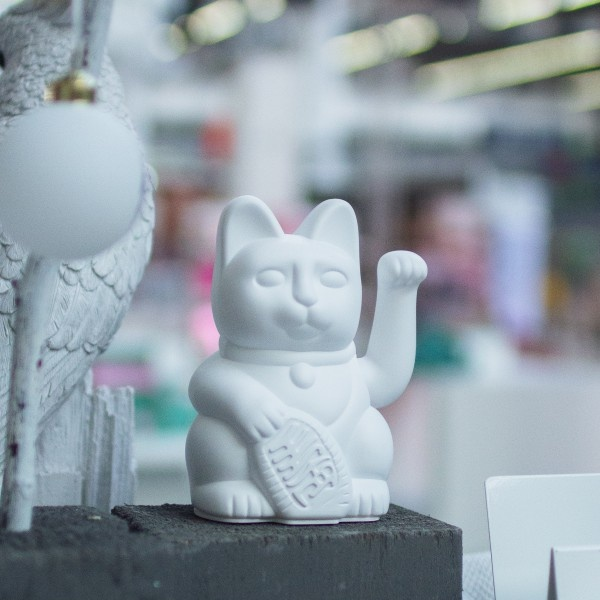 Donkey Products Lucky Cat weiss