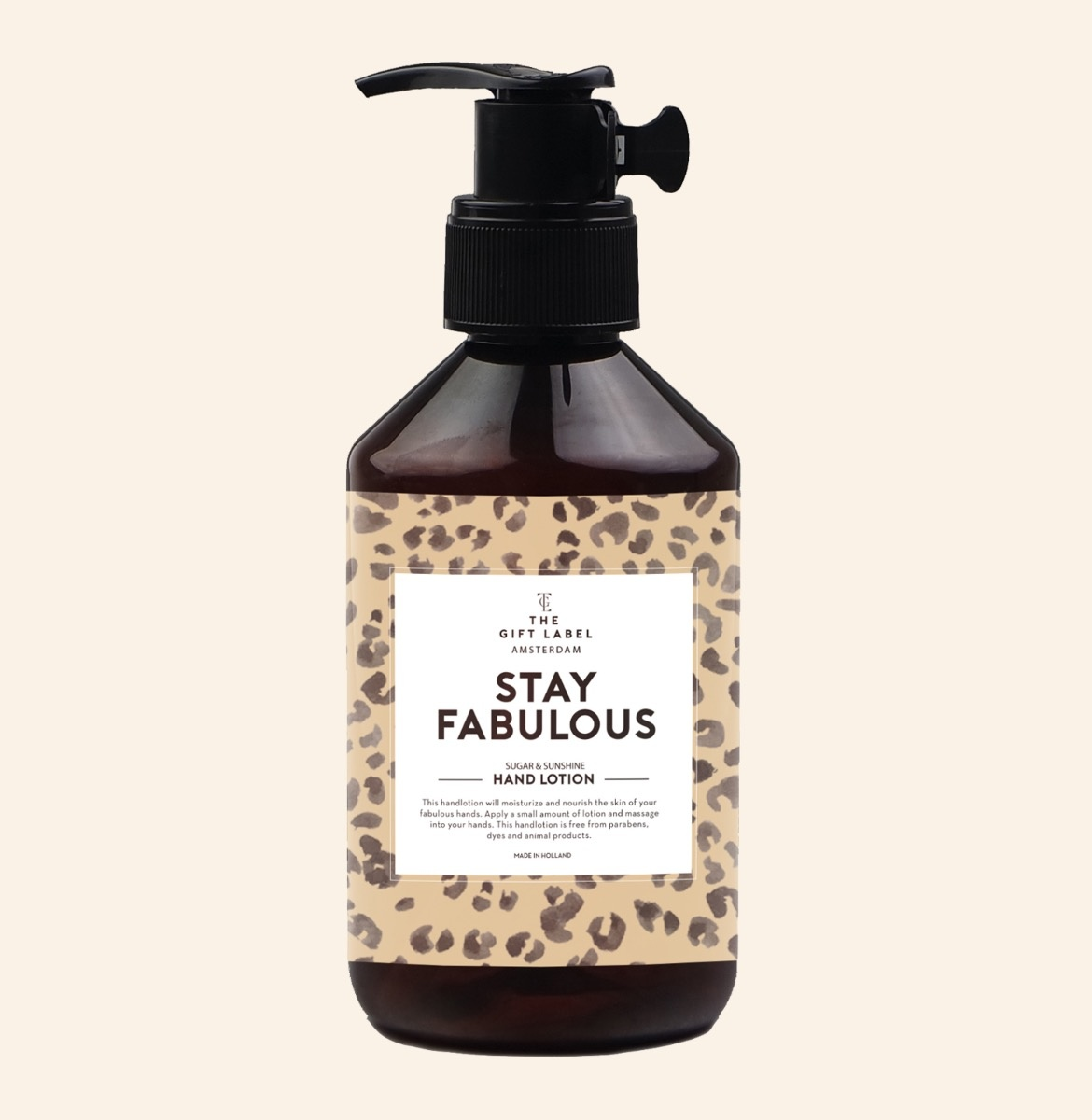 The Gift Label Hand Lotion Stay Fabulous 250ml