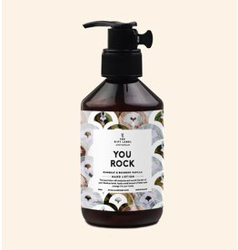 The Gift Label Hand Lotion  You Rock 250ml