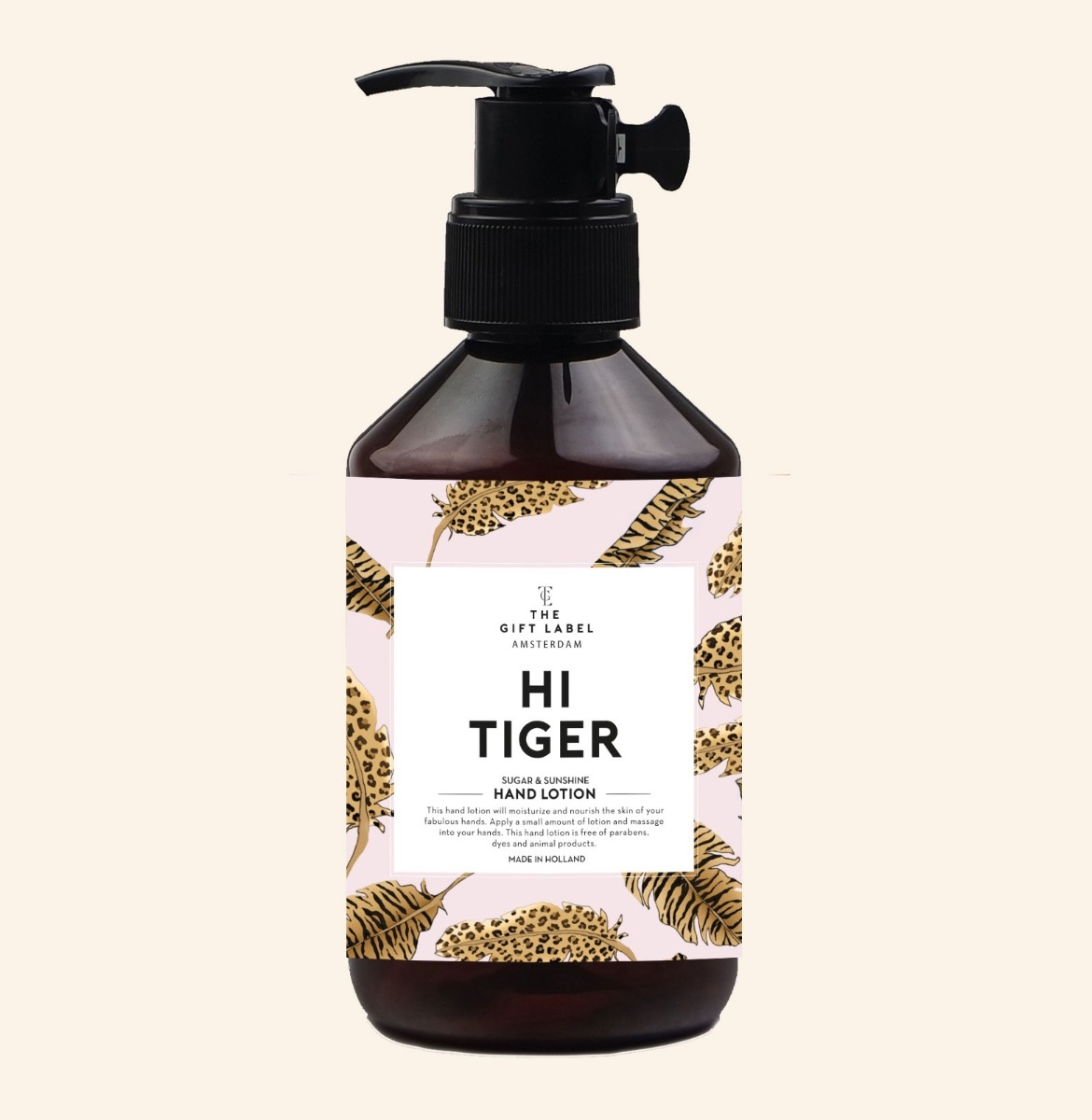 The Gift Label Hand Lotion Hi Tiger  250ml