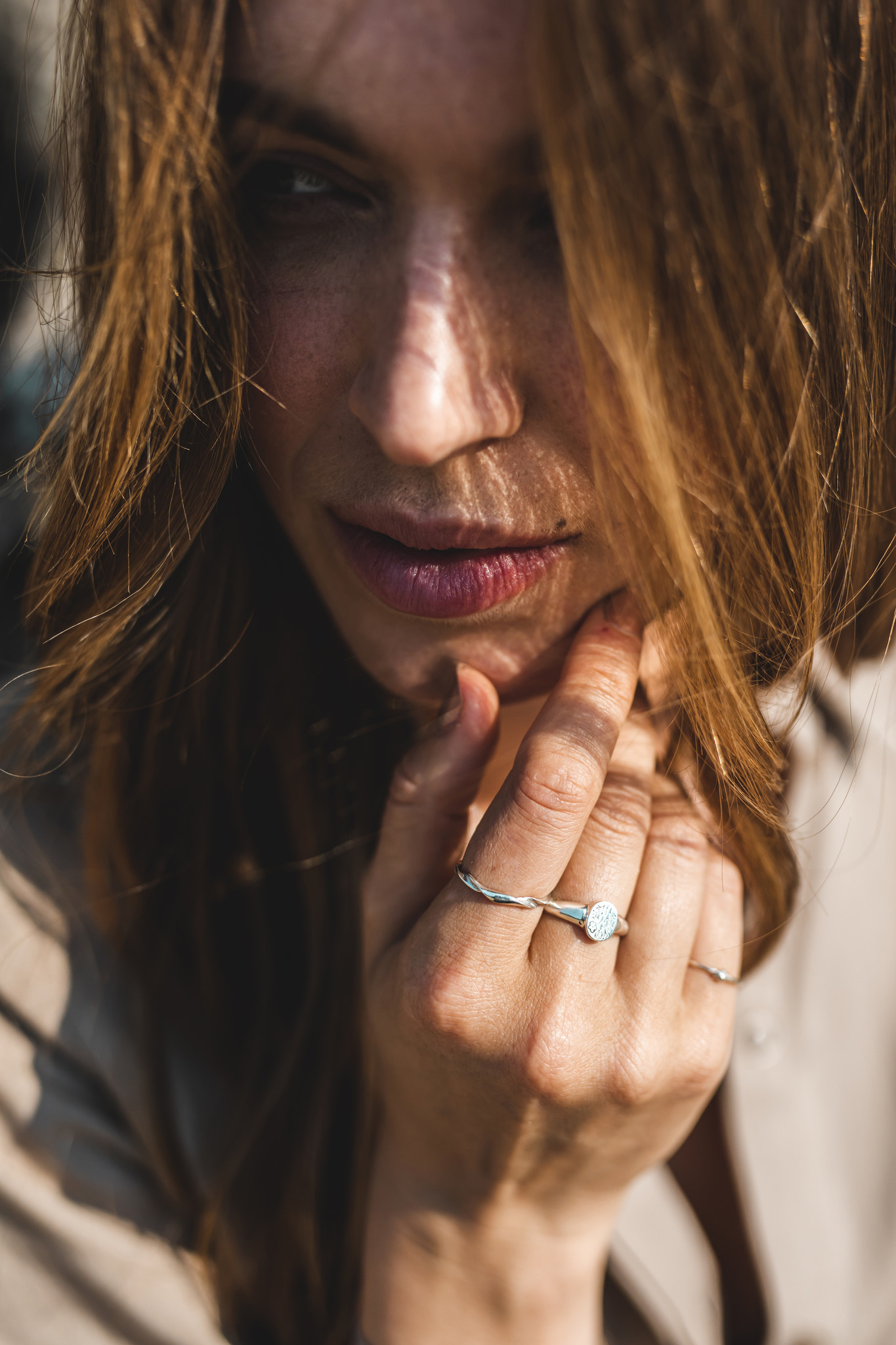 Riverstone Jewels Ring Grace maat 17 zilver