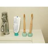 Kikkerland Toothbrushes bamboo Nudie