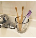Kikkerland Toothbrushes bamboo His & Hers