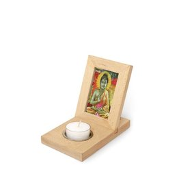 Kikkerland Photo frame with tealight holder small
