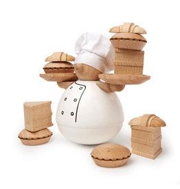 Kikkerland Balance-Spiel Der Bäcker