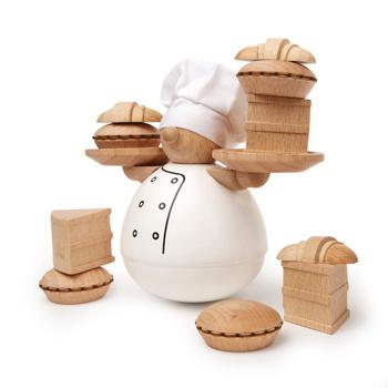 Kikkerland Balansspel The Baker