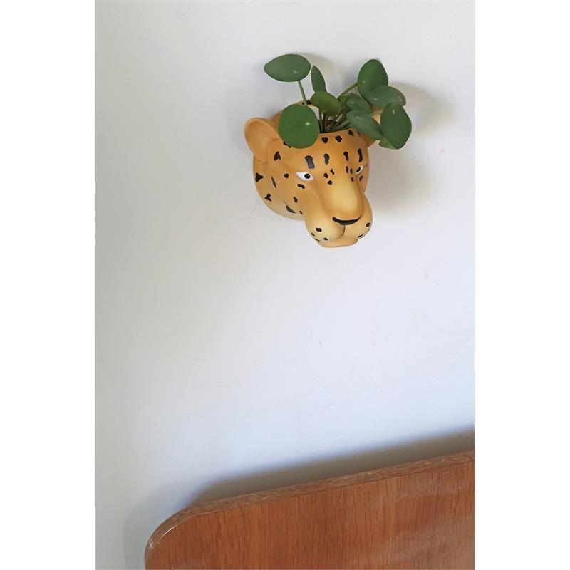 The Zoo Hanging Flowerpot Leopard