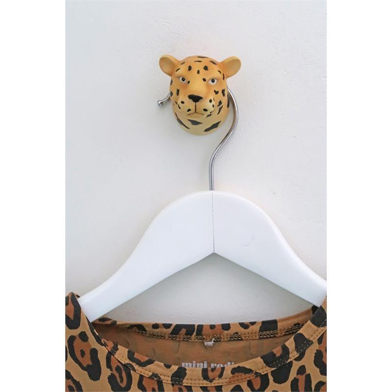 The Zoo Coat Rack Hook Leopard