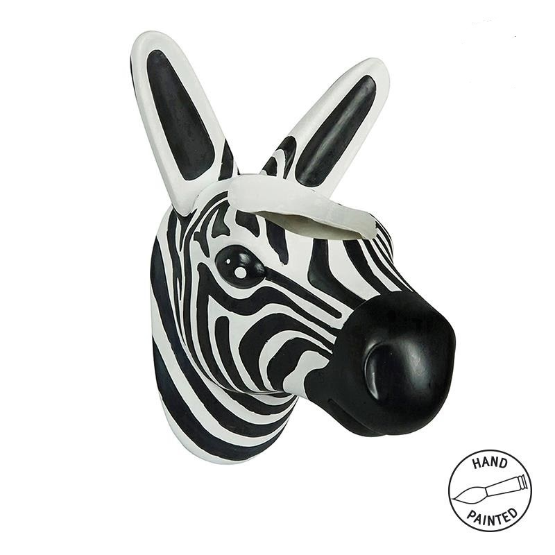 The Zoo Hängender Blumentopf Zebra