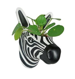 The Zoo Hanging Flowerpot Zebra