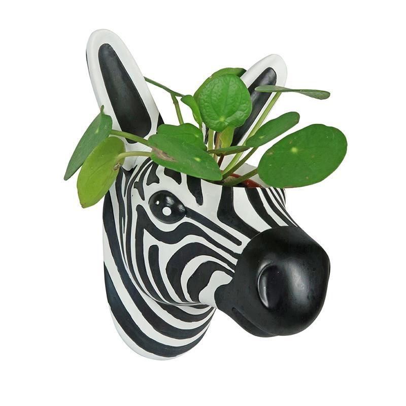 The Zoo Hangende Bloempot Zebra