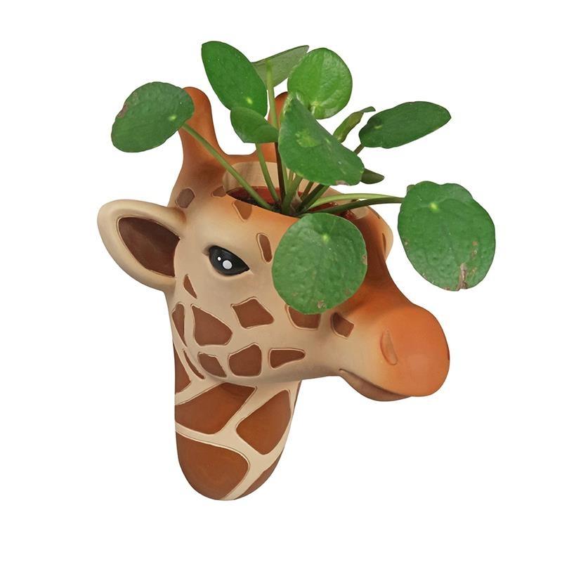 The Zoo Hangende Bloempot Giraffe
