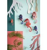Studio Roof 3D Wanddecoratie Sea Horses