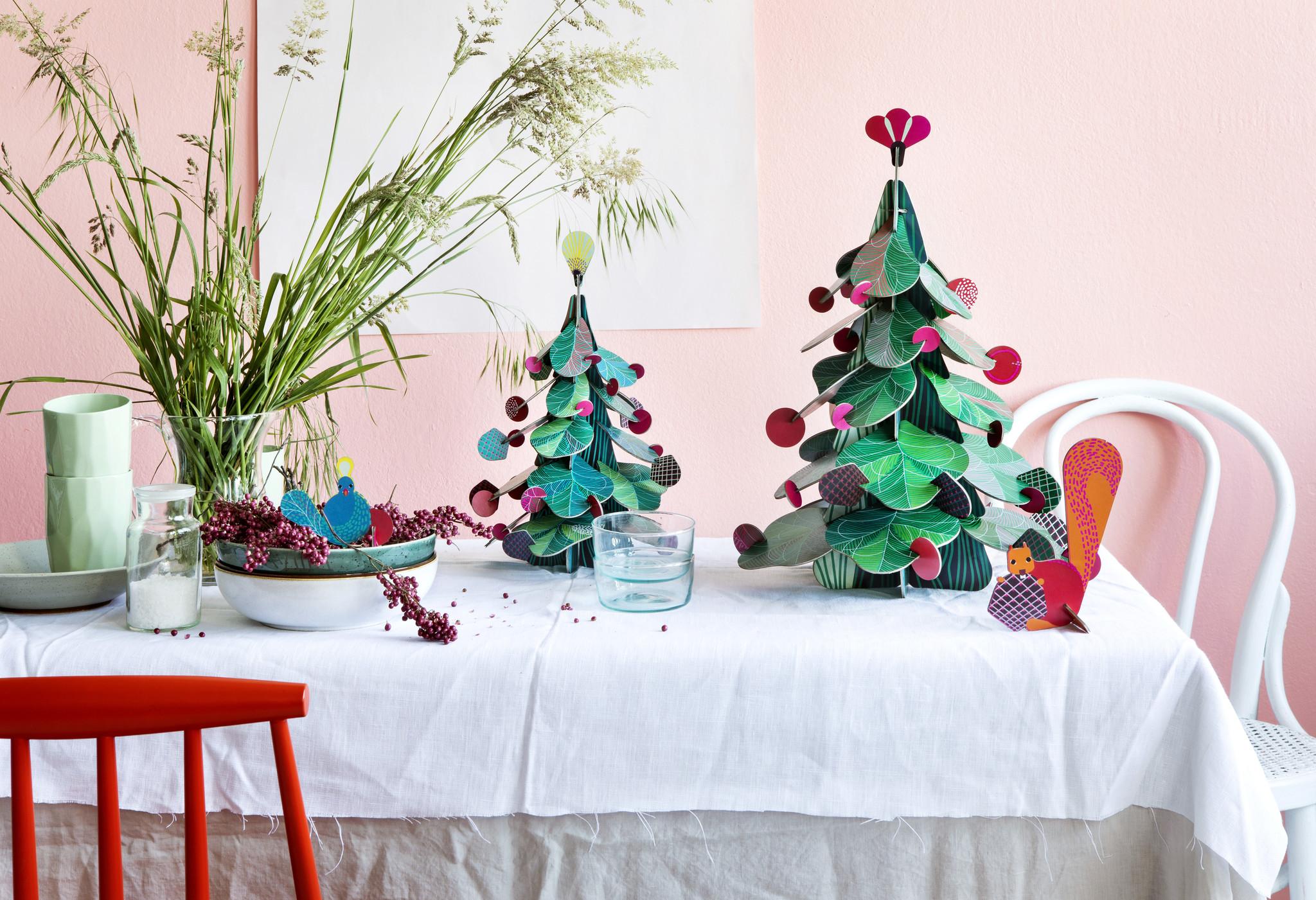 Studio Roof Bouwpakket Christmas Tree Peacock
