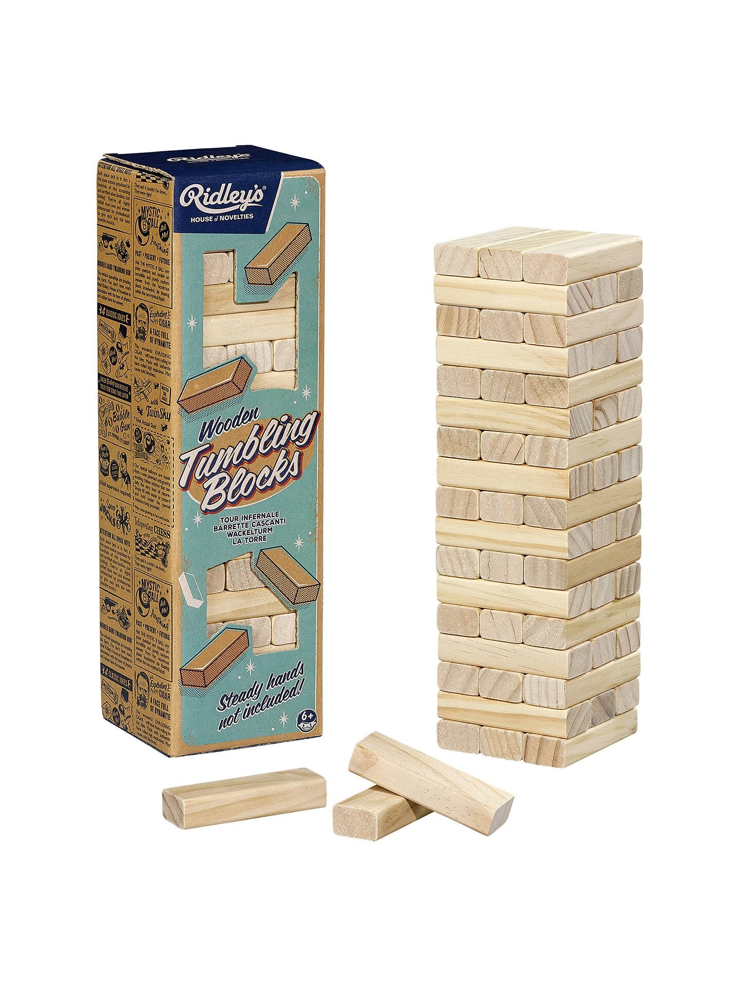 Ridley's Tumbling Blocks