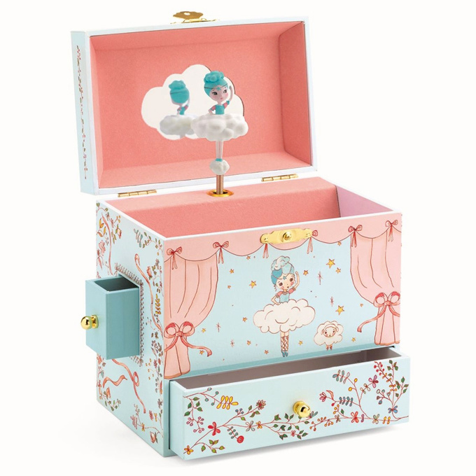 Djeco Music Box Ballerina on Stage