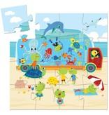 Djeco Puzzle The Aquarium