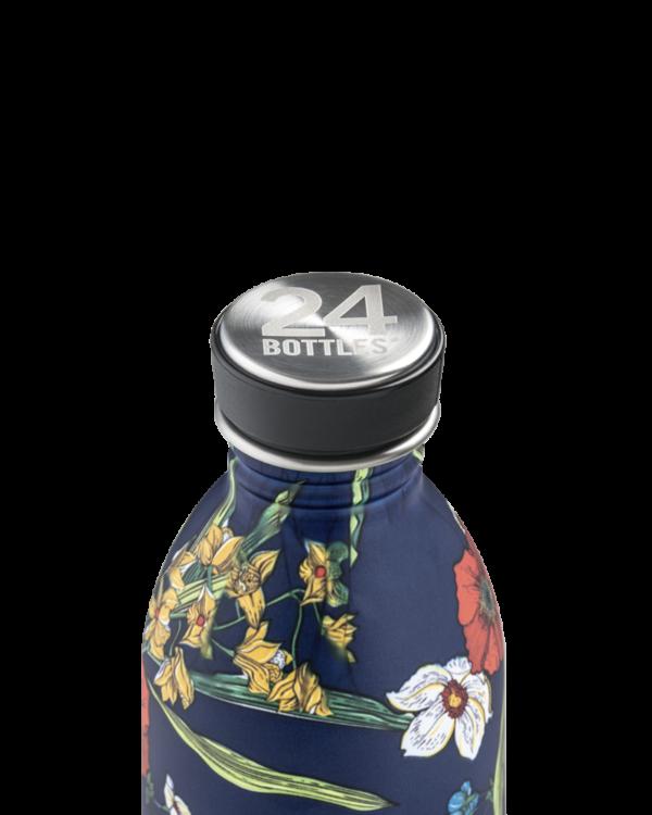 24Bottles Urban Drinking Bottle 0,5 L Denim Bouquet