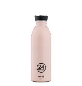 24Bottles Urban Drinking Bottle  0,5 L Stone Dusty Pink