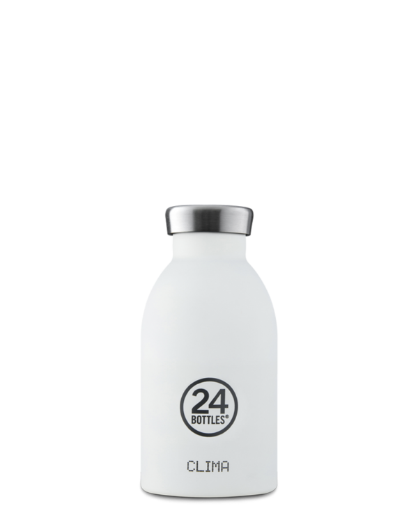 24Bottles Thermosflasche 0.33L Clima Ice White