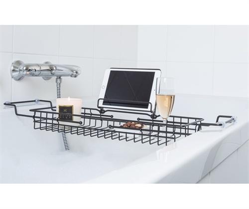 Presenttime Bath tub Caddy black