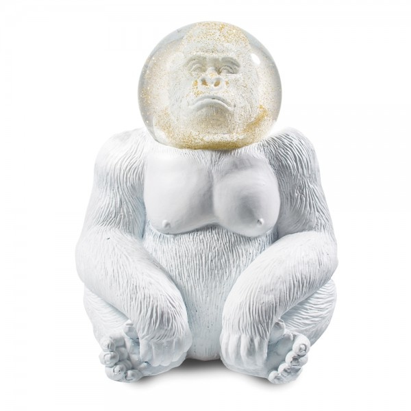 Donkey Products Glitter Globe The Gorilla