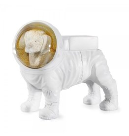 Donkey Products Glitzerkugel Space Dog