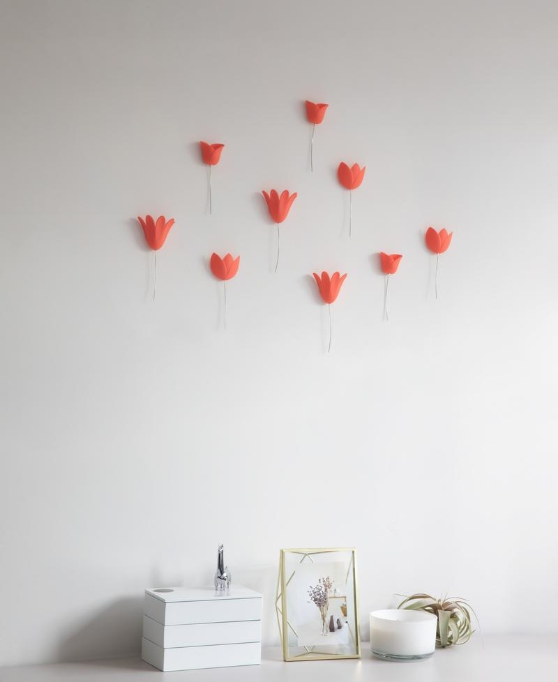 Donkey Products Wall Decoration Bloomer coral