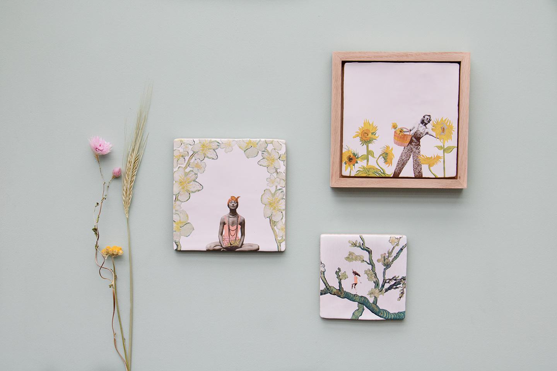Storytiles Decorative Tile Flower Power Small