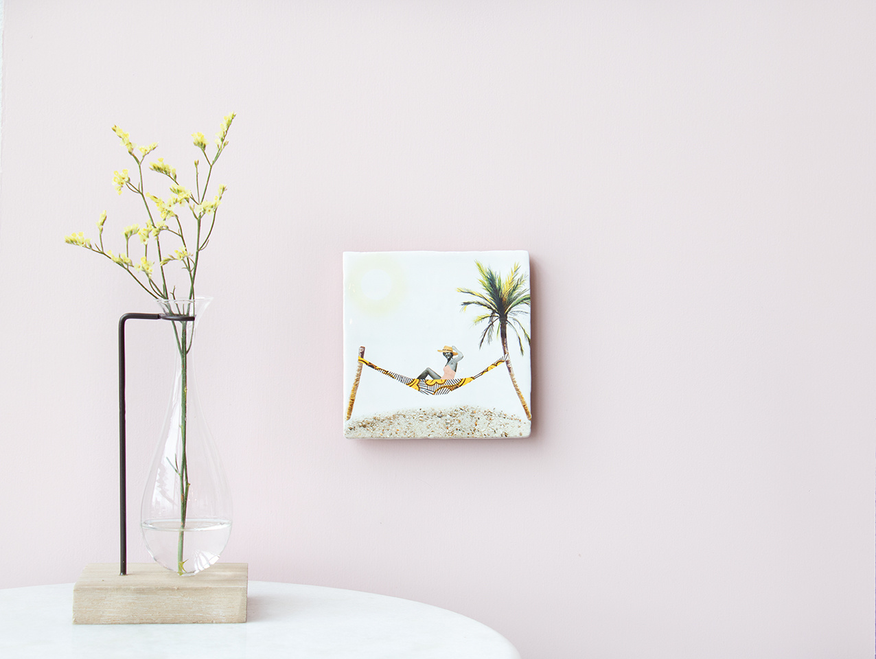 Storytiles Decorative Tile Greetings from... small
